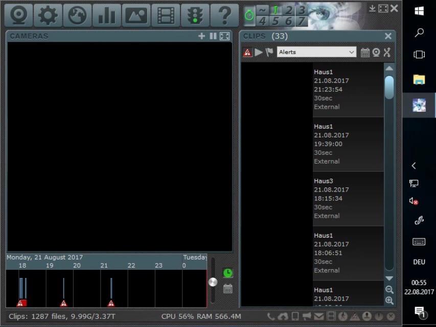 Blue Iris VMS zum Verwalten von IP-Kameras - TechnikBlock